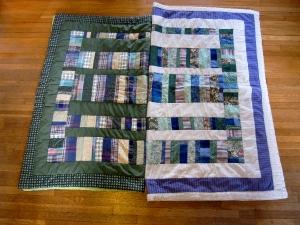 Micah's & Lysle's quilts
